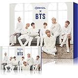 MEDIHEAL X BTS Facial Mask Sheet Special Set/Mask Sheet 10ea + BTS Photocard 14ea (01 Hydrating Moisture Care)
