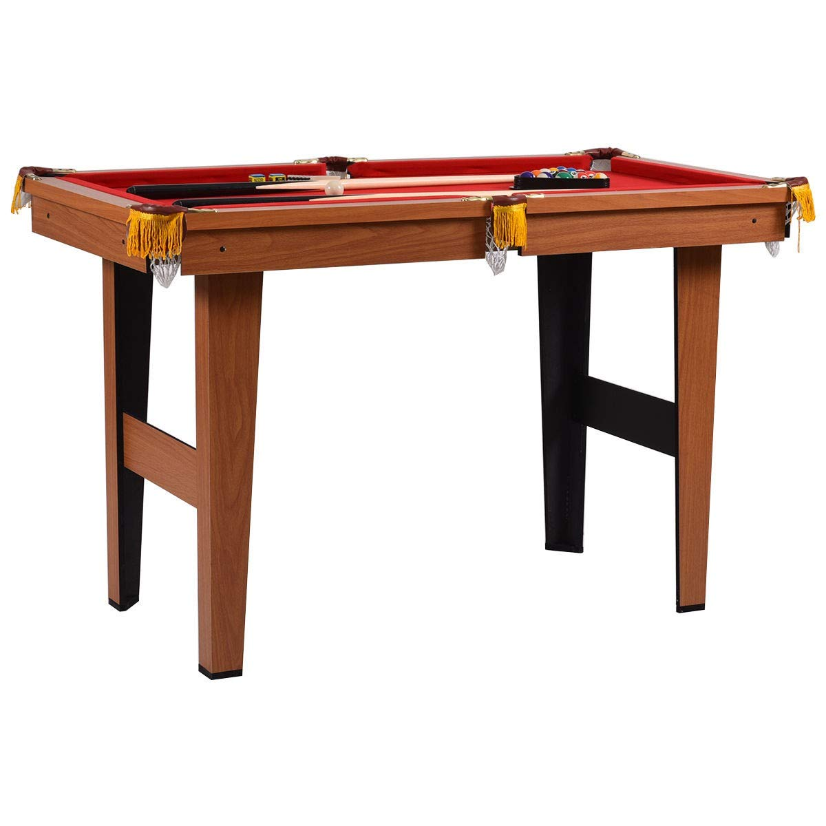 48'' Mini Table Top Pool Table Game Billiard Set by Abbeydh