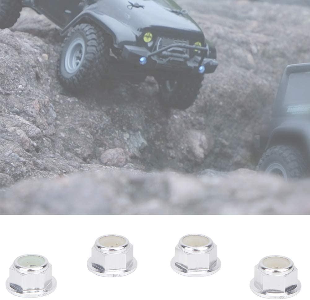 Drive Adaptor Combiner Coupler RC Wheel Lock for RC Car V GEBY 4PCS RC Wheel Lock Nut