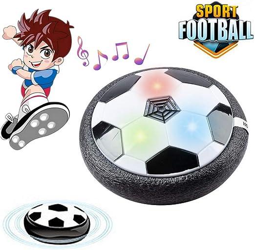 PRXD Juguete Balón de Fútbol Flotante, Air Soccer Ball con Luces ...