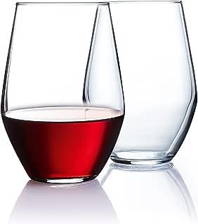 product image for Luminarc Arc International Concerto Bulk Stemless Wine Glass (Set of 12), 19 oz, Clear