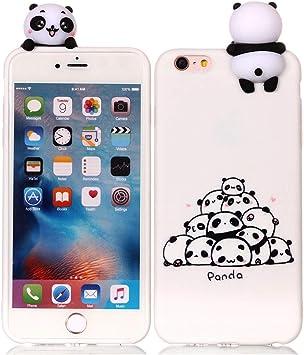 coque iphone 6 silicone panda