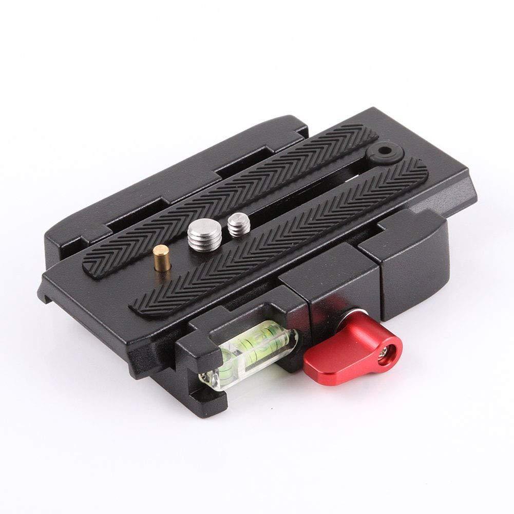 Soulitem Plaque de base QR Clamp Quick Release P200 pour Manfrotto 500 AH 701 503 HDV 577