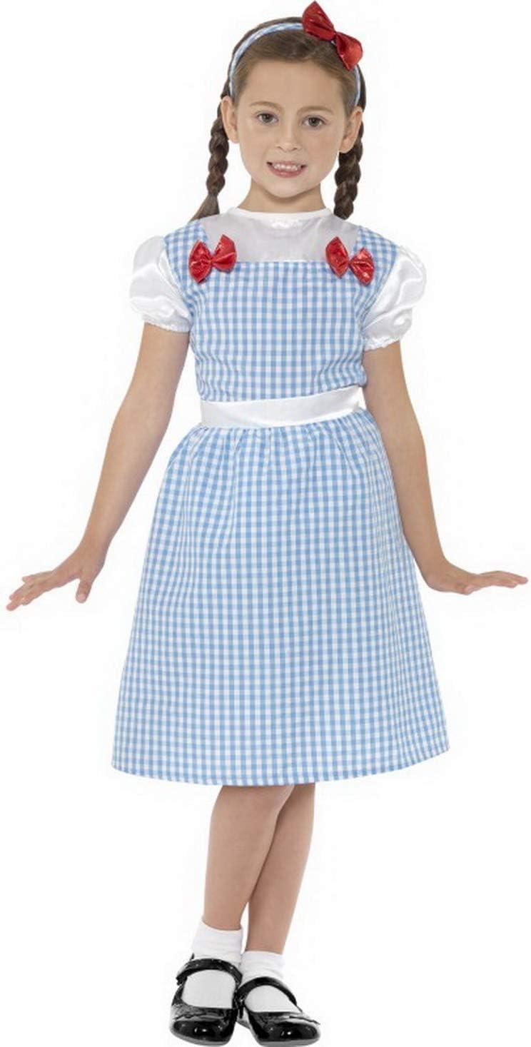 Halloween enia – Disfraz de niña de Campesina con Vestido y ...