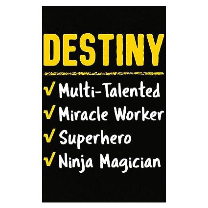 Amazon.com: Destiny Talented Superhero Ninja Name Pride ...