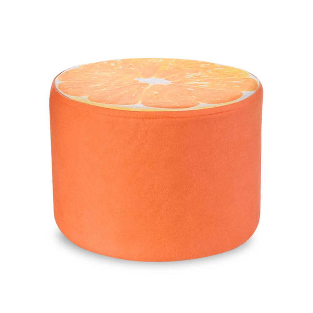 Creative shoe bench/Living room sofa stool/Children's stool Fabric fruit stool/Home coffee table stool Multifunctional footstool/Bed stool Solid wood stools/Stool/2820cm (Color : B)