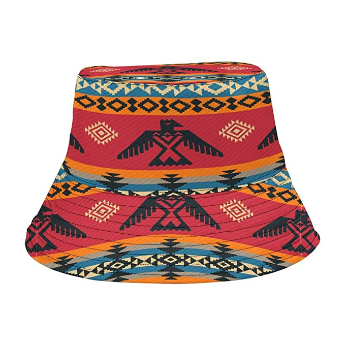 Image Unavailable. Image not available for. Color  INTERESTPRINT Vintage  Tribal African Art Fashion Design Bucket Hat for Men Women cdcd109cd751