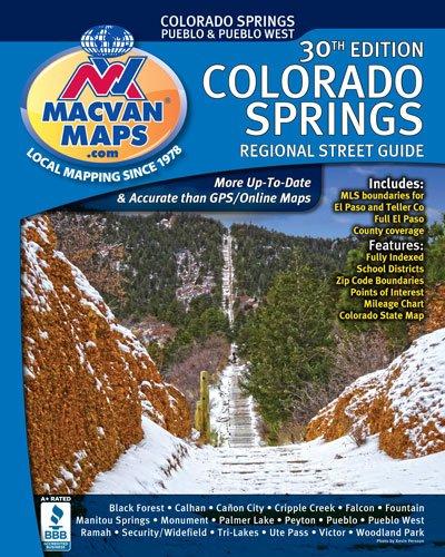 Colorado Springs Regional Street Guide 30th Edition: Amazon