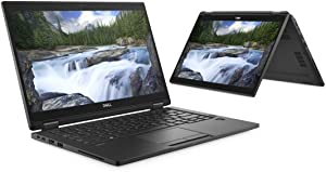 "Dell Latitude 7390 13.3"" 2-in-1 Laptop with Intel Core i7-8650U / 16GB RAM / 512GB SSD / FHD Touch Display / Windows 10 Pro (Renewed)"