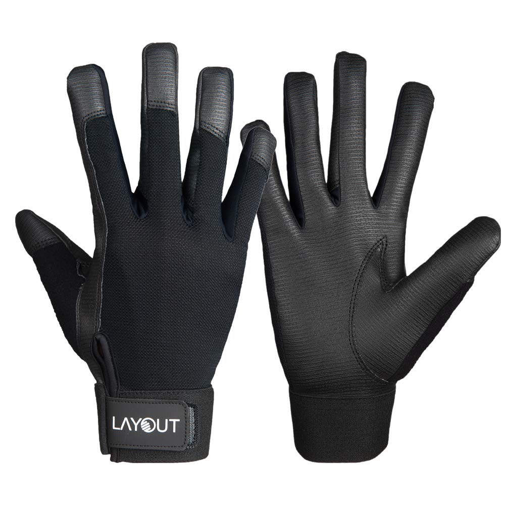 Layout Ultimate Frisbee Gloves - Ultimate Grip and Friction to Enhance Your Game! (S) by Layout Ultimate