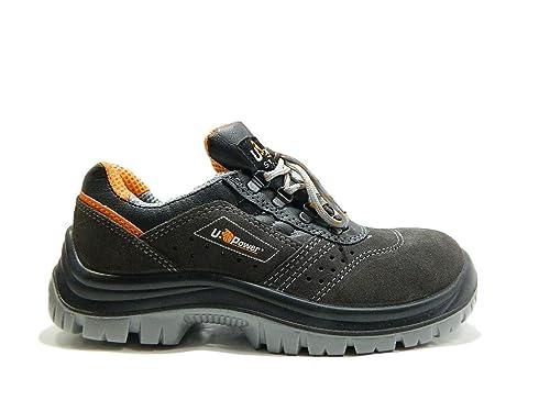 Upower Calzado de seguridad Rotational S1P SRC, Negro (negro), 35