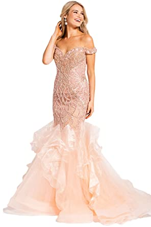 Jovani Prom 2018 Dress Evening Gown Authentic 53396 Long Blush at ...