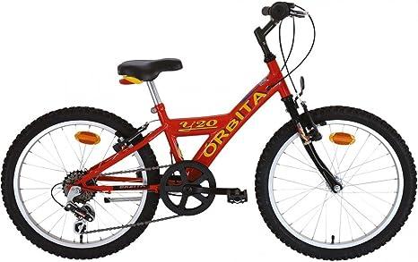 Bicicleta Infantil MTB Acero Orbita Y20 1v: Amazon.es: Deportes y ...