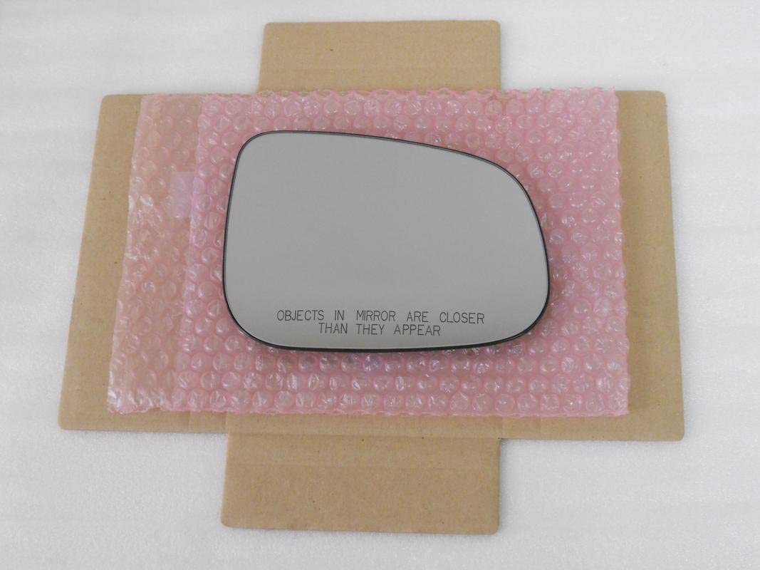 CHECK YEAR FOR FITMENT New Replacement Mirror Glass with FULL SIZE ADHESIVE for Volvo S60 S80 V60 Passenger Side View Right RH