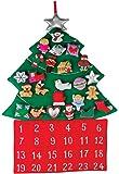 Christmas Tree Fabric Advent Calendar (Countdown to Christmas)