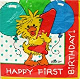Little Suzy's Zoo 'Witzy's One!' 1st Birthday Large Napkins (16ct)
