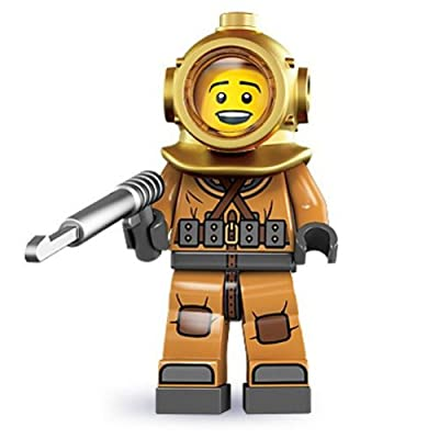 LEGO Diver 8833 Series 8 Minifigure: Toys & Games