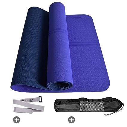 KEYINUO Yoga Mat Classic Pro Yoga Mat TPE Eco Friendly ...