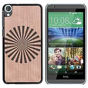 - / Japan Orient Star Flag Pinwheel - - Funda Delgada Cubierta Case Cover de Madera / FOR HTC Desire 820 D820 d820t / Jordan Colourful Shop/