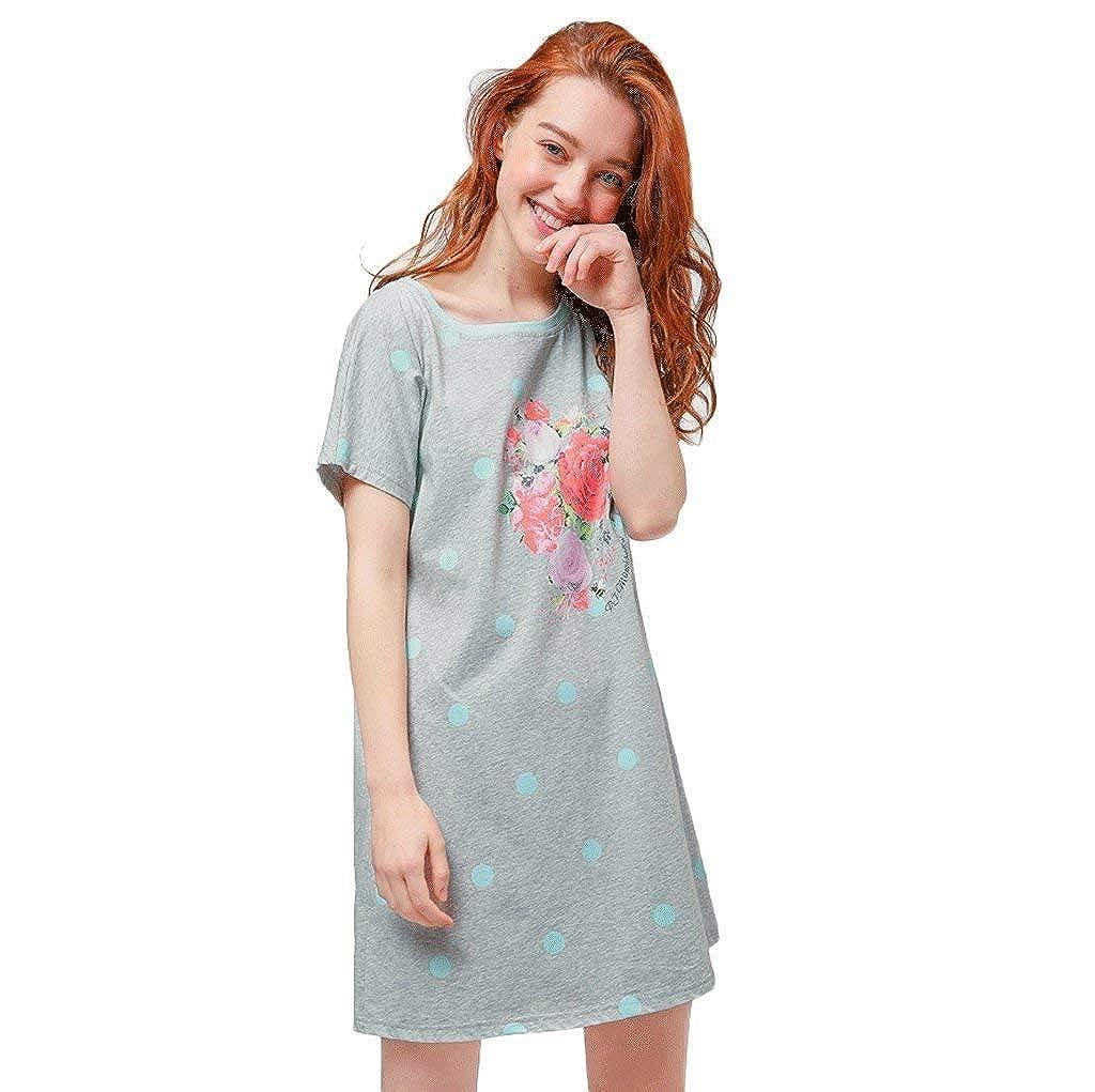 De Verano Cortos Moda Mujer Camisón Dormir Vestido vOy80PwNmn