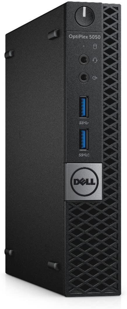Dell OptiPlex 5050 Micro Form Factor (Intel Core i5-7600T, 16 GB DDR4, 1TB SSD) Windows 10 Pro (Renewed)