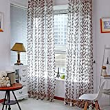 Norbi Willow Voile Tulle Room Window Curtain Sheer Voile Panel Drapes Curtain 39.4'