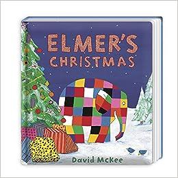 Christmas Board Design.Elmer S Christmas Board Book Elmer Picture Books Amazon
