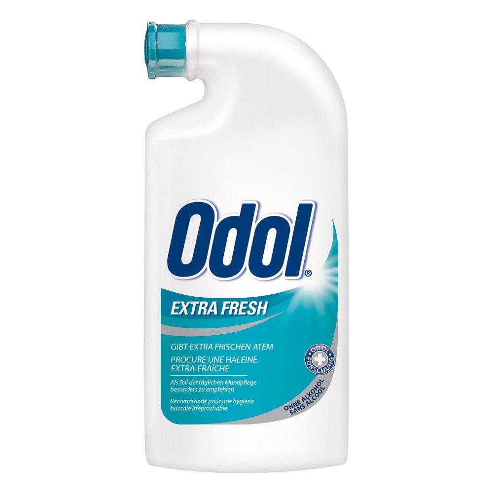 ODOL Extra Fresh - Concentrated Mouthwash (125ml / 4.25oz.ceramic bottle) by Odol 517365