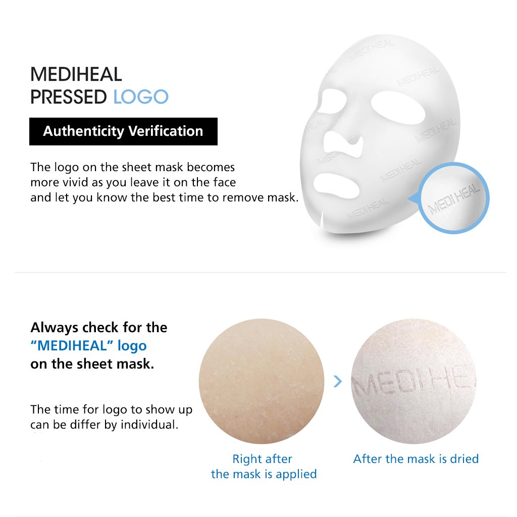Mediheal Teatree Care Solution Essential Mask Ex 25ml Collagen Impact Pack Of 10 Facial Masks Beauty