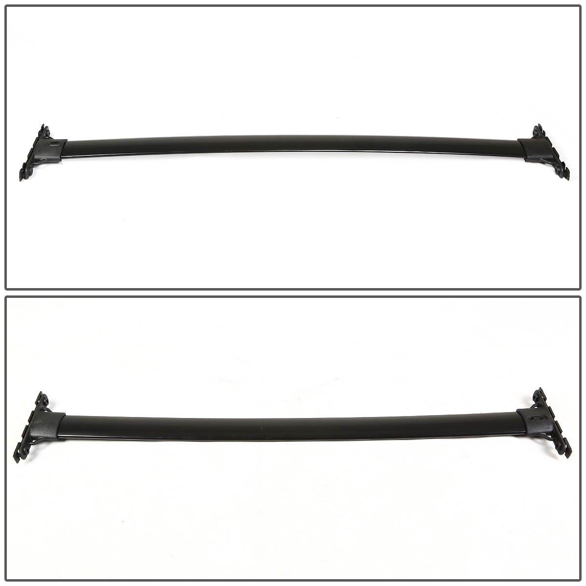 Black Coated For Highlander XU40 Pair of Aluminum OE Style Roof Rack Top Crossbars