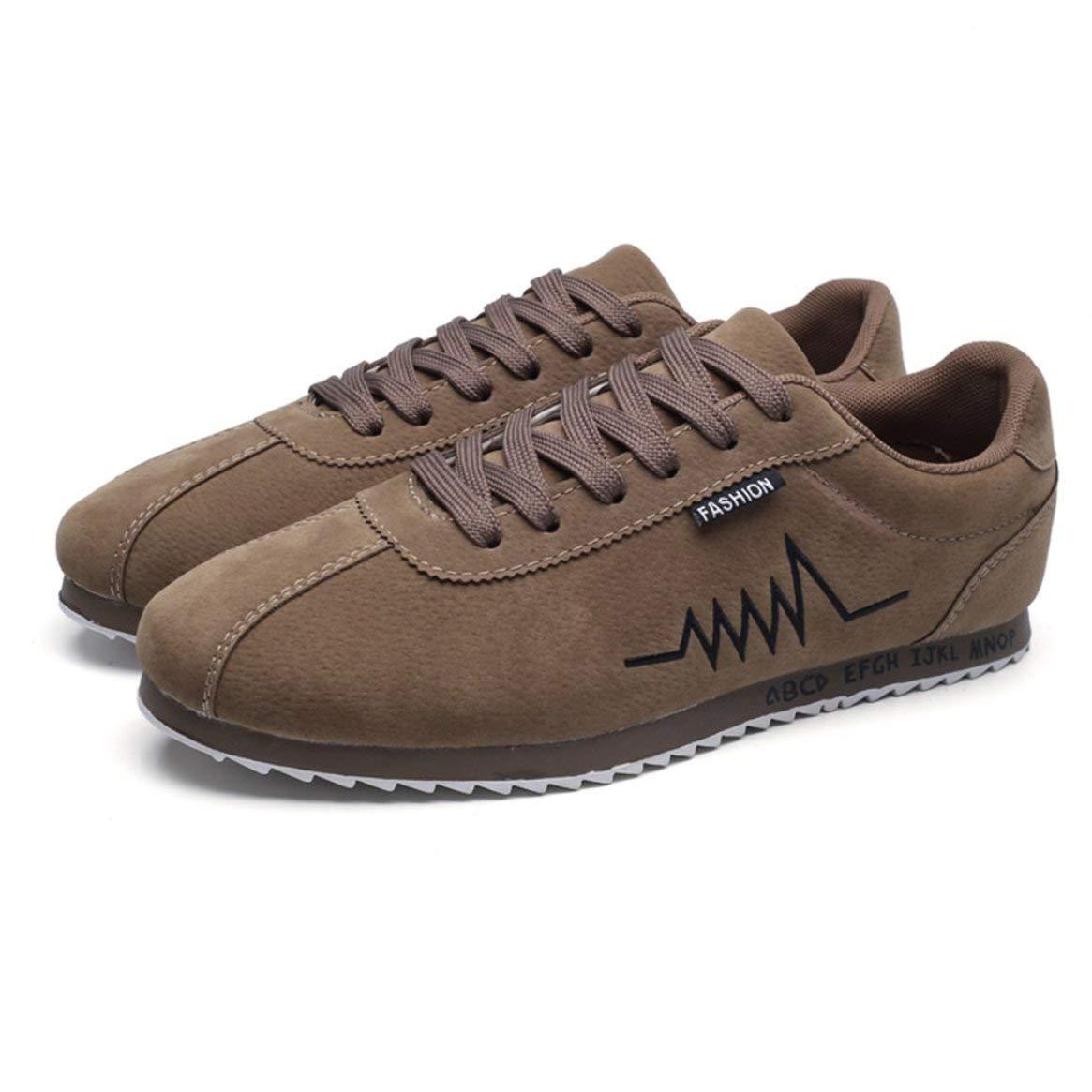 Moda Caminar para Hombres Zapatos para Caminar Moda Transpirable Malla Forro Zapatos Deportivos al Aire Libre Cómodos Zapatos Casuales Zapatillas Antideslizantes con Suela de Goma - Albaricoque 39 de6633