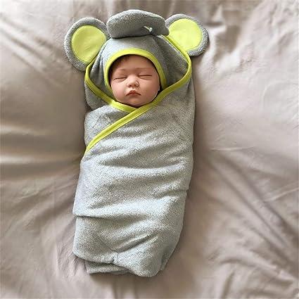 FIFY Fibra de bambú de Dibujos Animados Toalla de baño para bebé ...