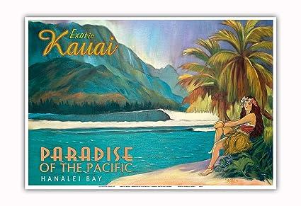 ba76c90b3981f Amazon.com: Pacifica Island Art - Exotic Kauai, Hawaii - Paradise ...