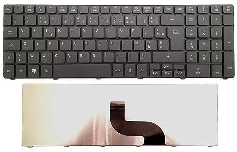 Teclado francés AZERTY para ordenador portátil ACER Aspire 5750 G Negro