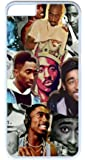 iPhone 7 Case, Personalize iPhone 7 Protective Scratch Proof Hard PC White Case Bumper Cover for New Apple iPhone 7 4.7 Inch - Tupac Famous