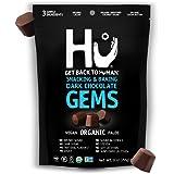 Hu Gems Chocolate Vegan Snacks | Organic, Paleo, Gluten Free Dark Chocolate Chips | Baking and Snacking Chips | Plant…