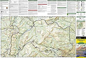 Rocky Mountain National Park Hiking Map: Trails Illustrated Maps ...