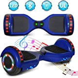Amazon.com: Superrio US Bluetooth 6.5 Hoverboard w/Speaker ...