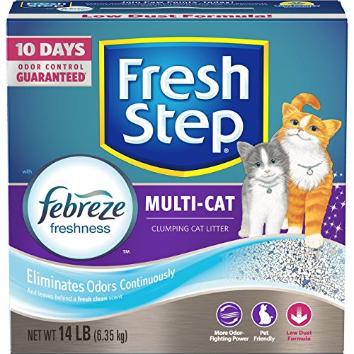Fresh Step Multi Cat Scented Scoopable Cat Litter Review