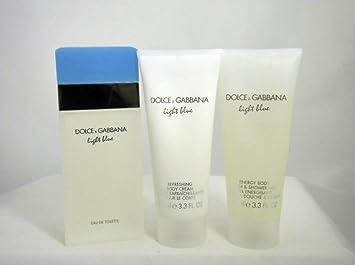 Amazon.com : Dolce & Gabbana Light Blue Gift Set for Women (3.4 oz ...