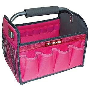 Craftsman 12 in. Tool Totes - Pink