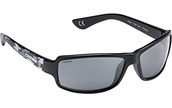 Cressi Ninja Sonnenbrille, Schwarz/Blau Camou/Dunkelgrau Linses, One Size