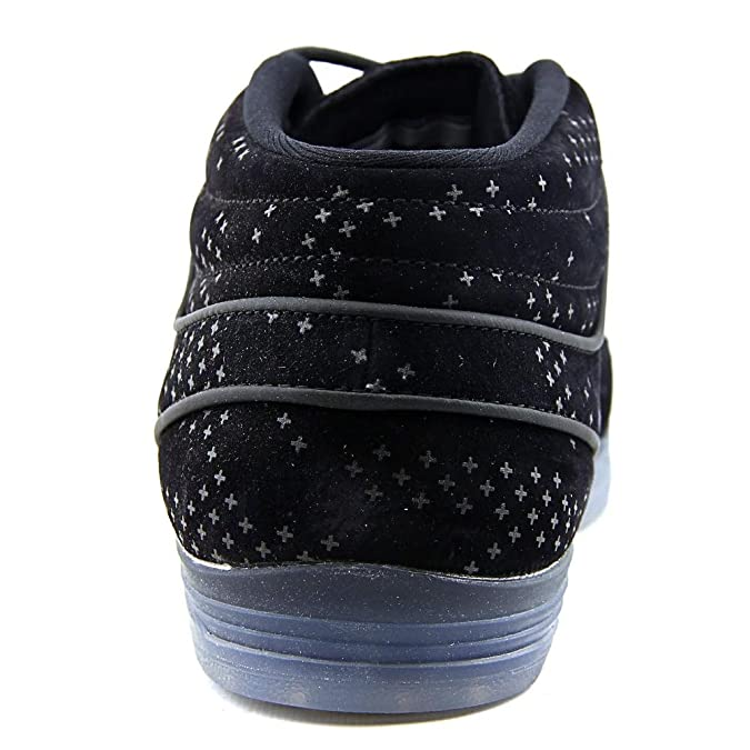 Nike Lunar Stefan Janoski Mid Flash, Zapatillas de Skateboarding para Hombre, Negro (Black/Black-Clear), 47 1/2 EU