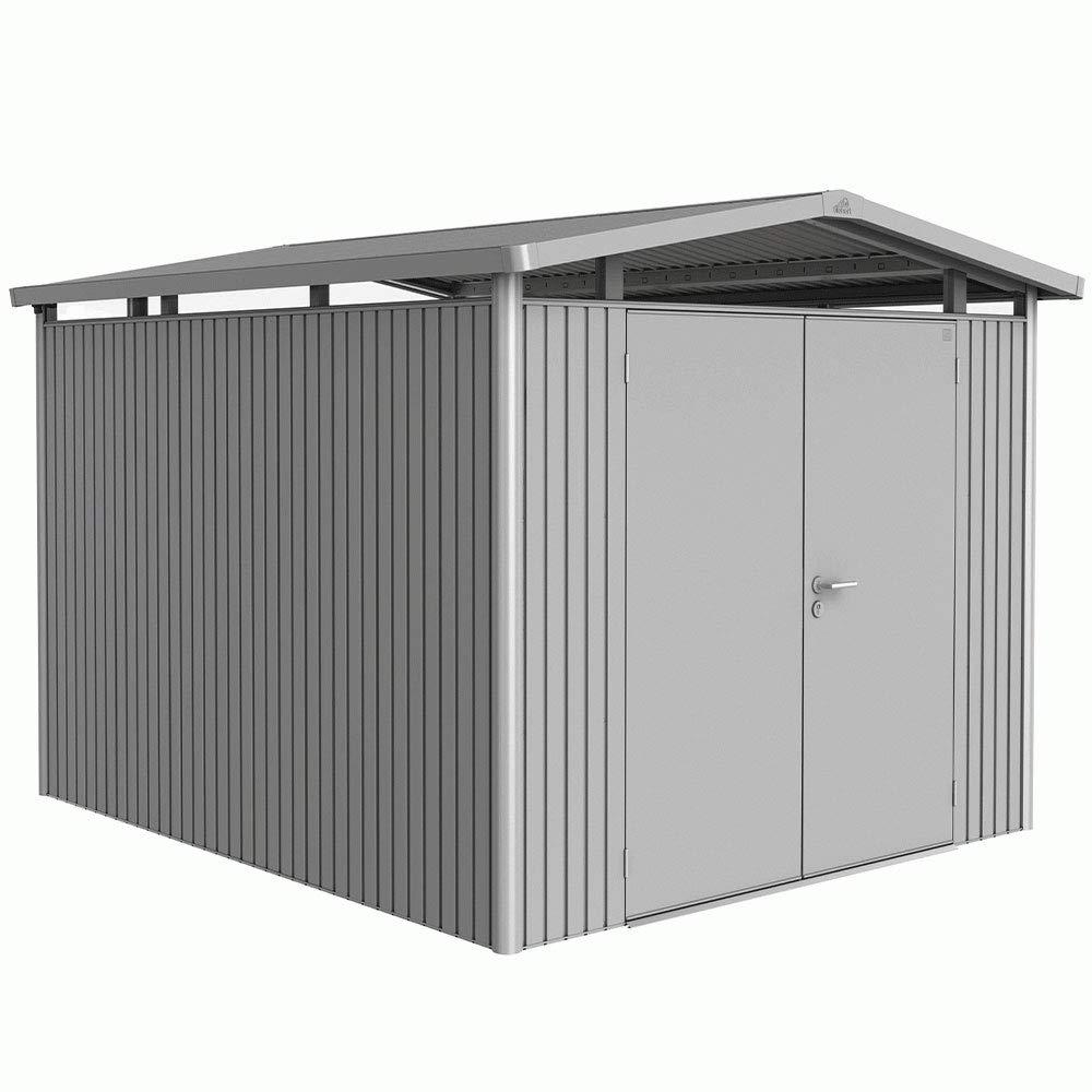 8x10 Metal Shed >> Biohort Heavy Duty Panorama P5 8x10 Double Door Metal Garden