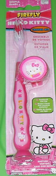 Hello Kitty Toothbrush Travel Kit (2-pack)