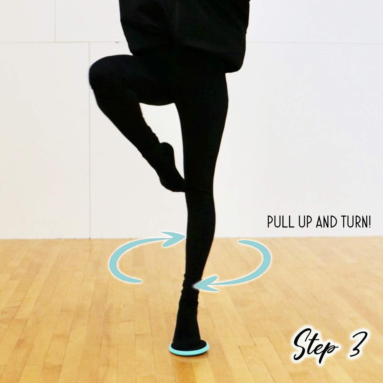 LUCKYGBY Turning Board Ballett Pirouetten Drehbrett Spin Board f/ür Ballettt/änzer Fu/ßgleichgewichtstraining Eiskunstlaufen,1 St/ück Rotations/übungen