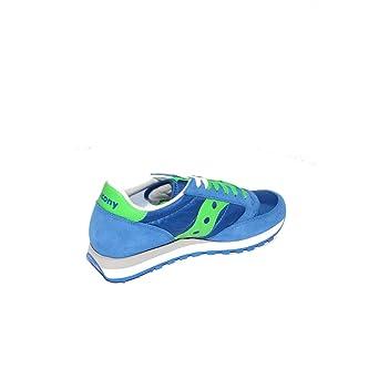Saucony Scarpe Sneaker Uomo 2044-421 Blue-Green Ai17 Ti0fc