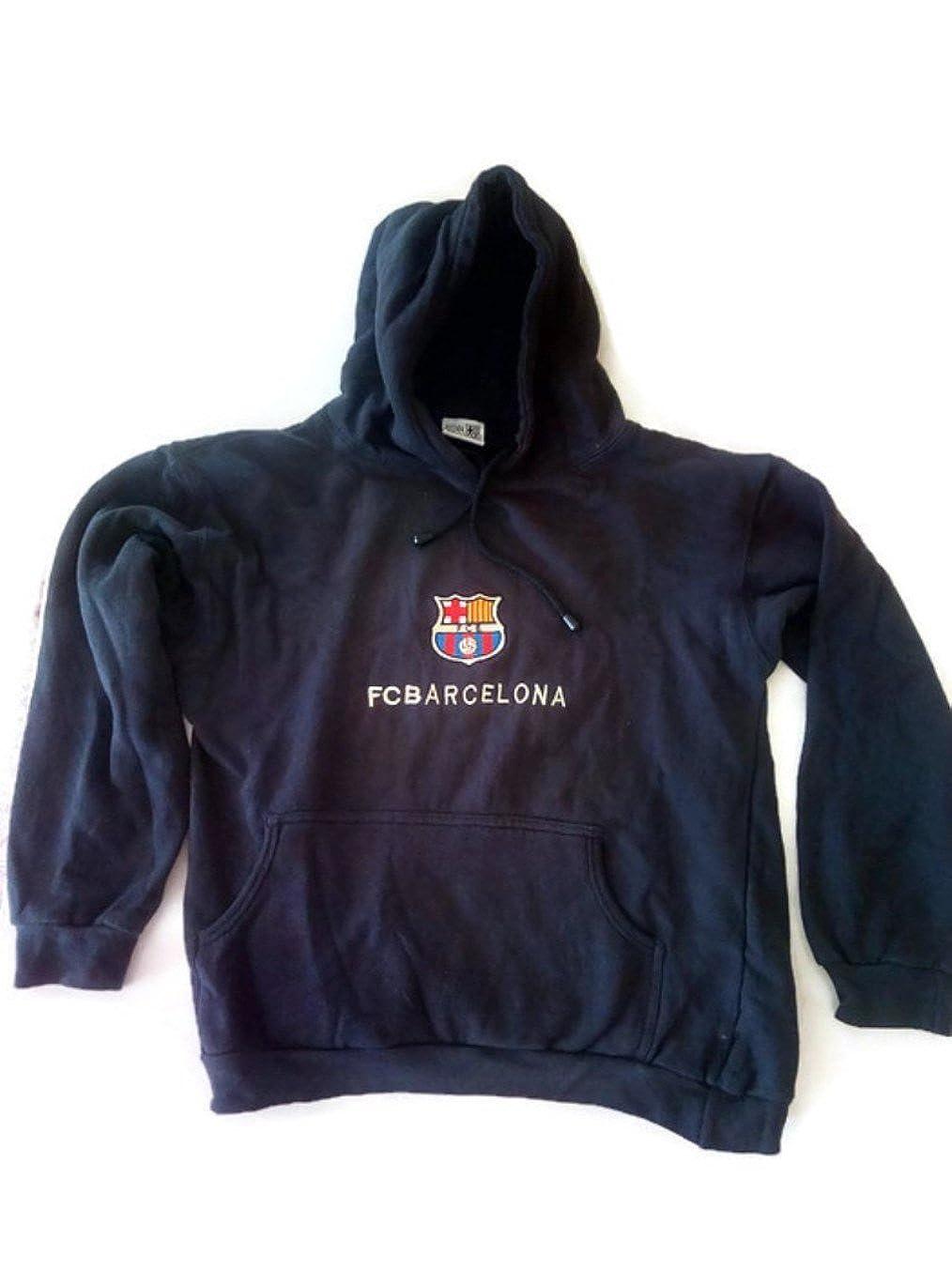 Sudadera del Barça FCBarcelona vintage logoFCB (S): Amazon.es: Ropa y accesorios