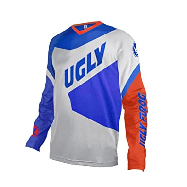 Image Unavailable. Image not available for. Color  Uglyfrog Mens Downhill  Jersey Rage MTB Cycling Top Cycle Long Sleeve ... 8db46148d