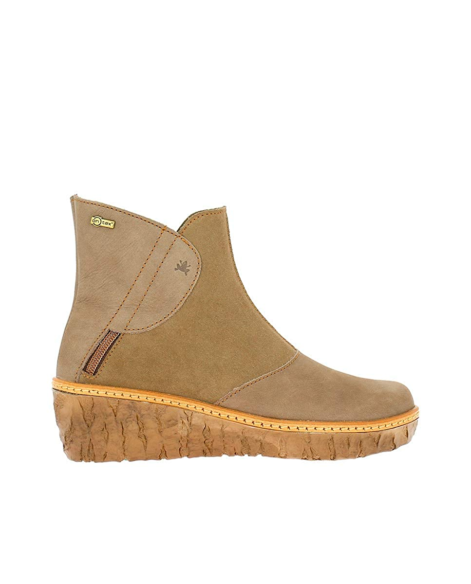 Grau (Plume 000) El Naturalista Damen N5132 Kurzschaft Stiefel